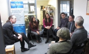 Andrew Caplen meets Law Centre staff