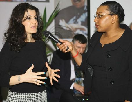 Miranda interviewing Ozlem