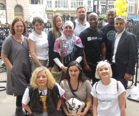 Team with Sadiq Khan